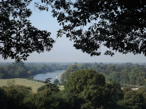 View from Richmond Hill terrace
