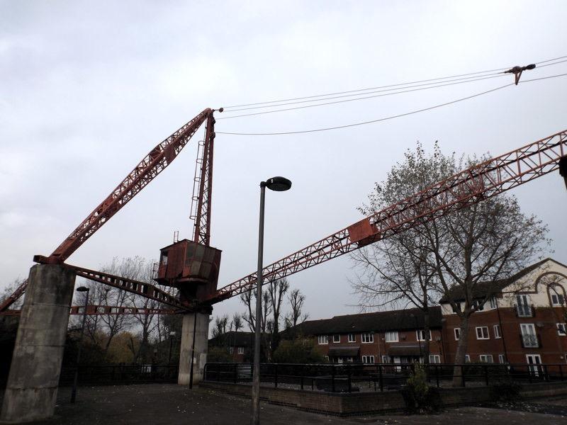 Commercial Pier Wharf crane