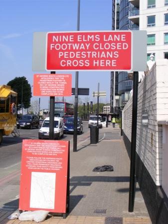 Nine Elms Lane