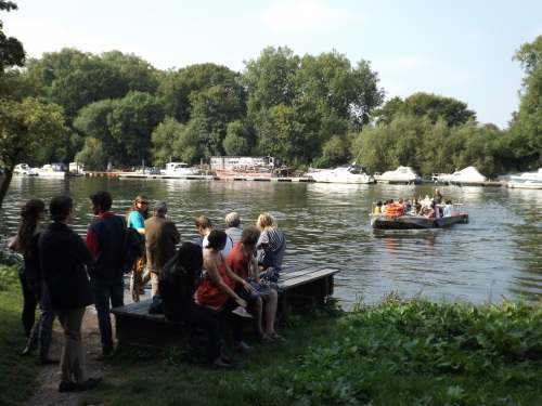 Hammerton's Ferry carries visitors to Orleans House and Marble Hill House across the river
