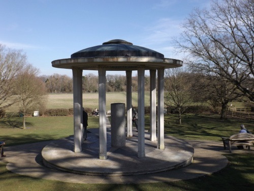 Magna Carta monument on Runnymede