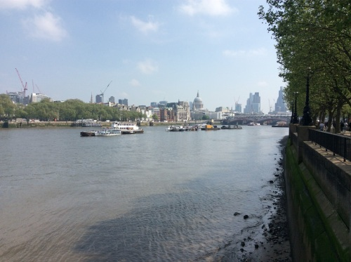 This view would be blocked by the Garden Bridge